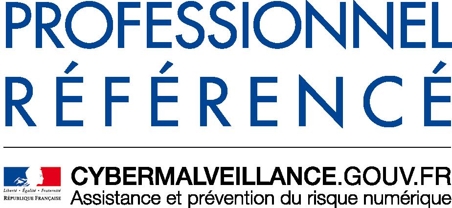 Logo Professionnel Référencé Cybermalveillance